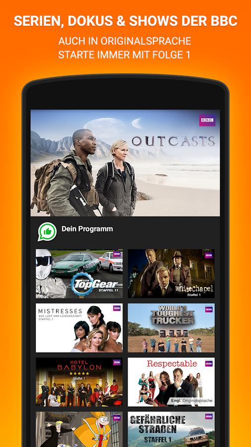 dailyme TV, Serien & Fernsehen- screenshot
