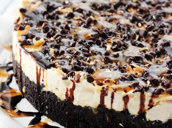 No Bake Samoa Cheesecake Recipe