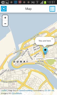 ドバイオフラインマップガイドホテルのおすすめ画像2