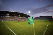 General view during the Absa Premiership match between Ajax Cape Town and AmaZulu FC at Athlone Stadium on November 25, 2017 in Cape Town, South Africa.