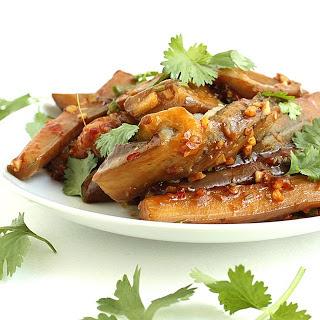 Spicy Sichuan Eggplant [Vegan]