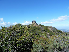 Photo: ?Fire lookout tower atop East Peak of Mt Tam