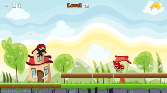 Ninja Jump Running screenshot 11