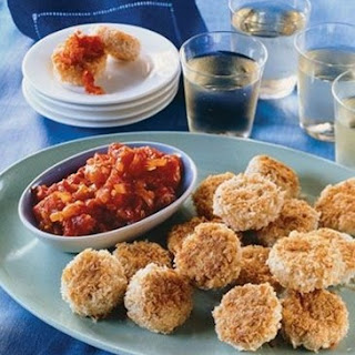 Weight Watchers Chicken Cakes with Tomato Jam