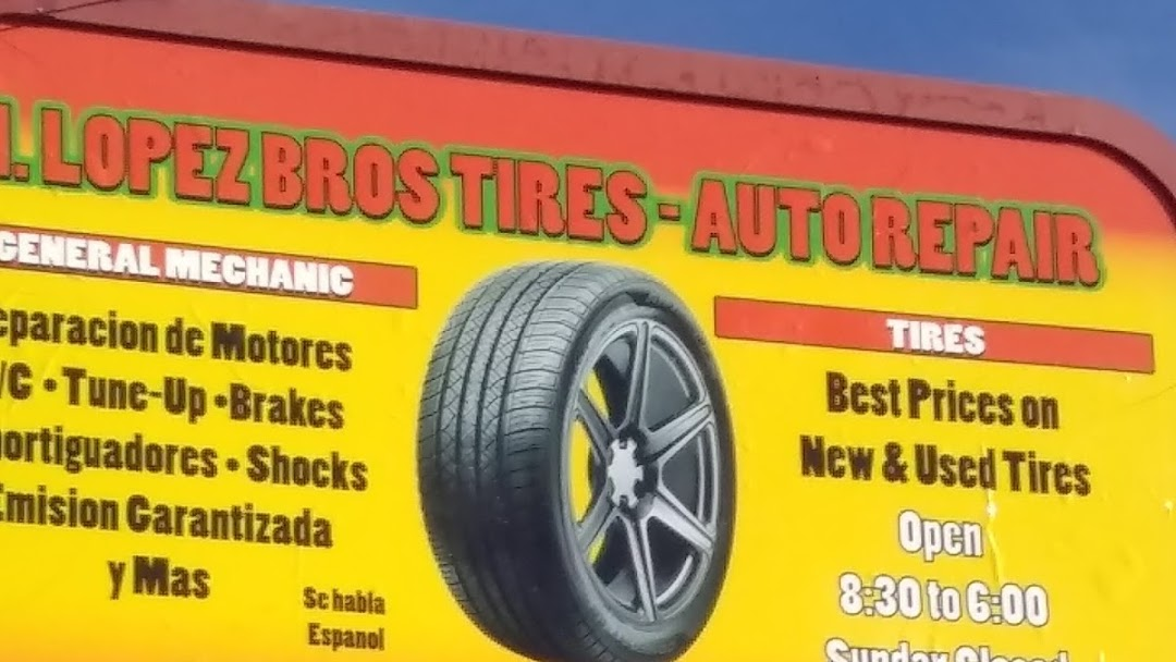 Nearest Used Tire Shop >> H Lopez Bros Tires Used Tire Shop In Phoenix