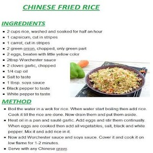 New chinese rice english recipes apk direct download free food new chinese rice english recipes screenshots forumfinder Choice Image