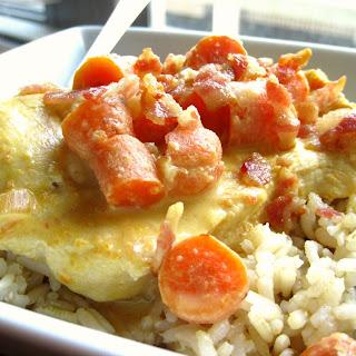 Salsa Chicken with Brown Rice.