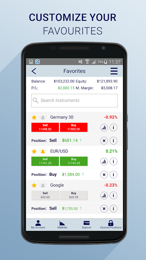 Xtrade Online Cfd Trading Android Apps On Google Play