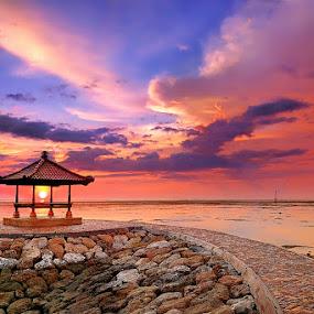 Sanur by IkanHiu Pegel Pegel - Landscapes Sunsets & Sunrises ( ihpp )