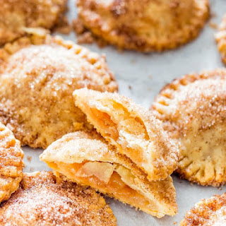 Churro Apple Pie Cookies.
