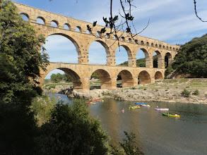 Photo: Pont du Gare - most famous Antic Roman Aquaduct