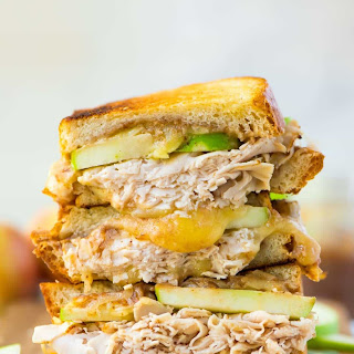 Apple Butter, Turkey, and Cheddar Grilled Cheese Recipe