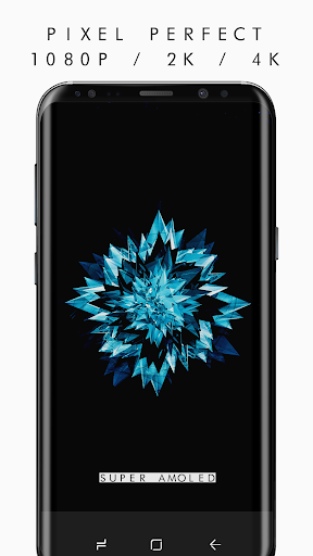 AMOLED 4K PRO Wallpapers (2960x1440) app for Android screenshot