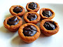 Chocolate Chocolate Chip Cookie Cups