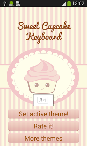 玩生活App|纸杯蛋糕键盘免費|APP試玩
