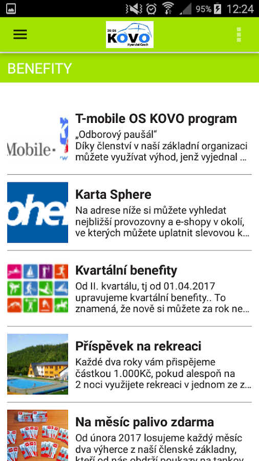 ZO OS KOVO Hyundai Czech- screenshot