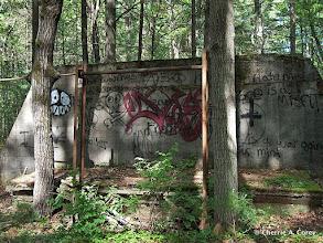 Photo: Old firing range foundation