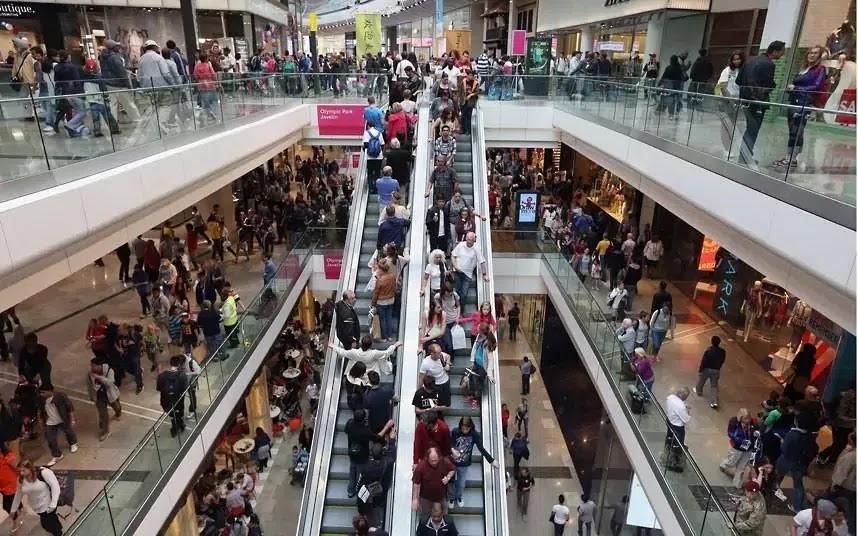 Westfield Stratford City shopping