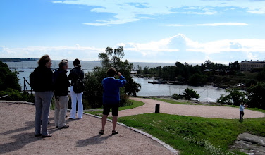 Photo: TAKING IN THE VIEWS FROM KAIVOPUISTO PARK      http://en.wikipedia.org/wiki/Kaivopuisto