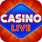 Casino Live - Slots, Bingo, Poker & Card Game icon