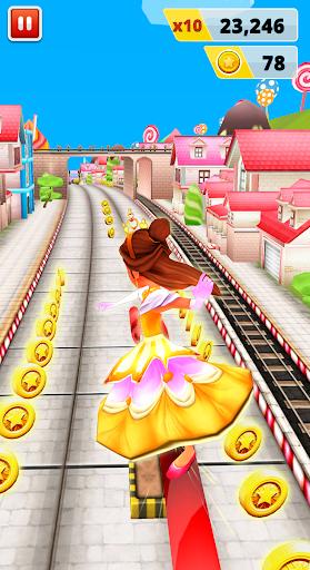 Princess Run Game apkpoly screenshots 5