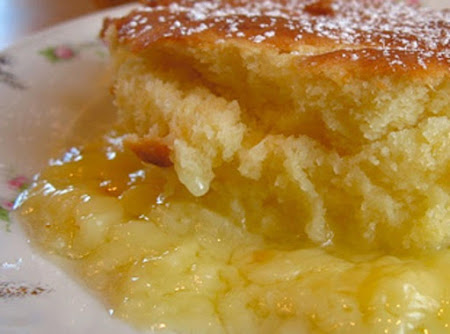 Crockpot Lemon Pudding Cake Recipe