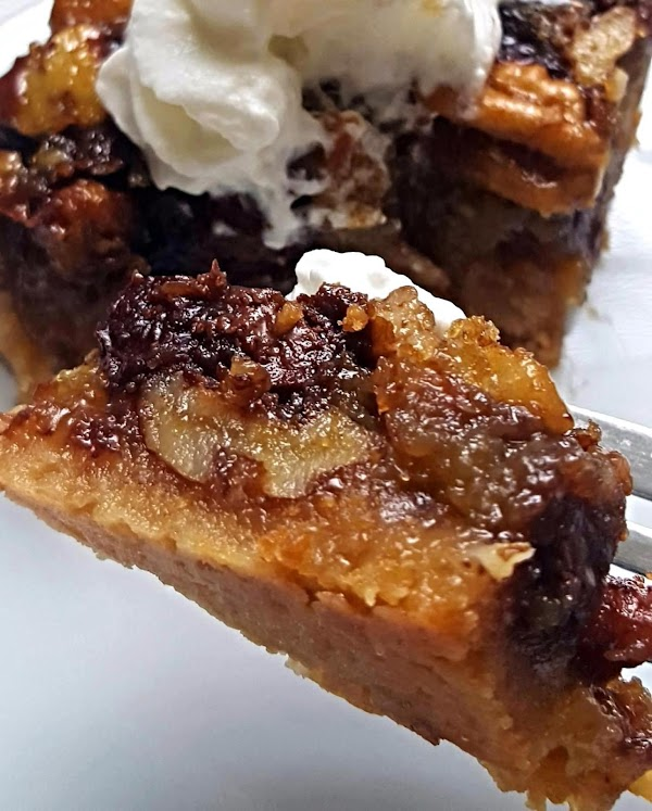 Rum Chocolate Pecan Pie Bars Recipe