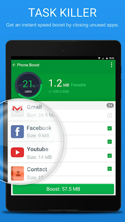 Speed Booster & Junk Cleaner 1.2.4 screenshot 750179