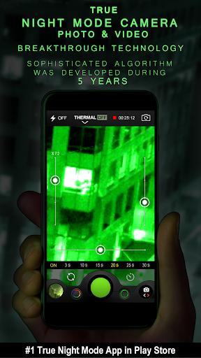 Night Camera (Photo & Video) 2.5 screenshots 1