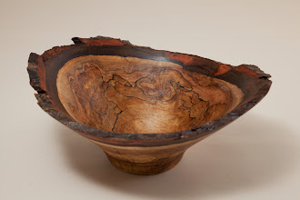 "Photo: Phil Brown 6 1/4"" x 2 1/2"" natural edge bowl [spalted maple] (bring back challenge)"