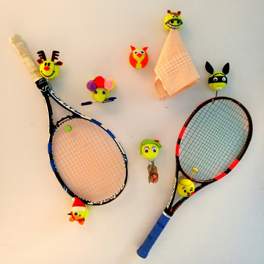 得意網球吸盤(可加掛鈎)  Tennis Suction Cup