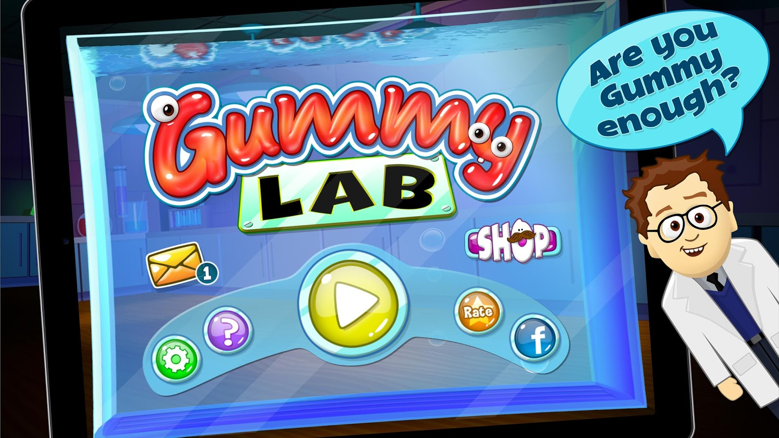 Gummy Lab - Match 3- screenshot