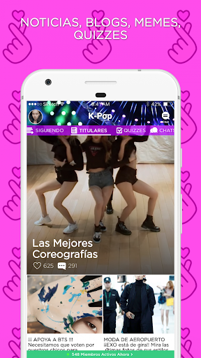 K-Pop Amino en Espau00f1ol 2.2.27032 screenshots 1