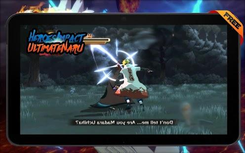 Ultimate Shipuden: Ninja Impact Storm - náhled