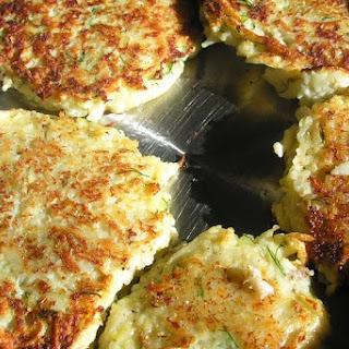 New England potato cod fishcakes.