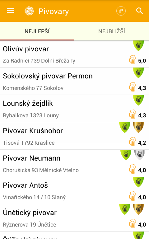 Na pivo- screenshot