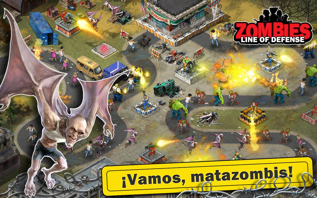 Zombies Line of Defense TD MOD APK MOD