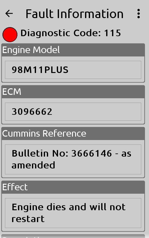 Cummins Engine Parts & Support- screenshot