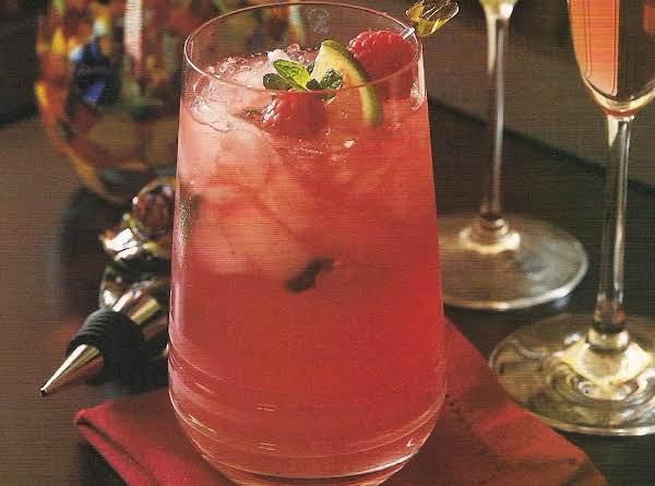 Raspberry Mojitos