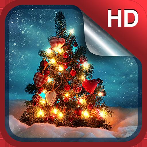圣诞节动态壁纸 個人化 App LOGO-硬是要APP