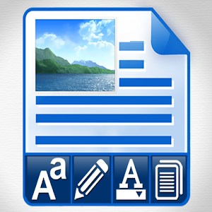 Cool Notepad Rich Text Editor to Write Fancy Notes 2.0 by Pro Data Doctor Pvt. Ltd. logo