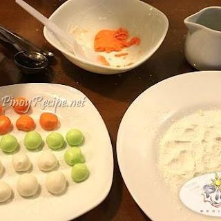 How to make Bilo Bilo or Sticky Glutinous Rice Balls.