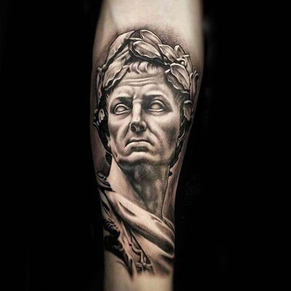 ลายสักโรมันผู้ชาย 10