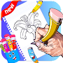learn drawing flowers for kids APK icon