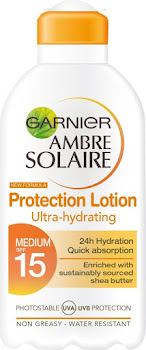 Ambre Solaire Ultra-Hydrating Sun Cream SPF15 - 200ml