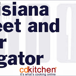 Louisiana Sweet and Sour Alligator
