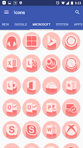 Pink Multilauncher Icon Pack v2.1.0