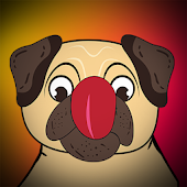 Pug Emoji Sticker for whatsapp