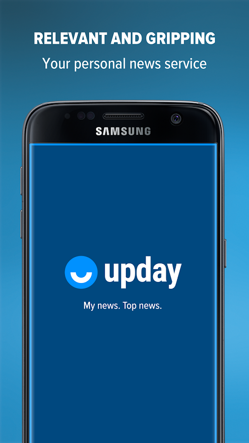 upday news for Samsung- screenshot