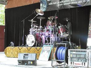 Photo: TaP odstartováno M. Meierem a jeho Drum show.